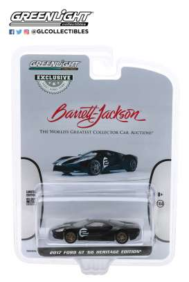 Ford  - GT 2017 black - 1:64 - GreenLight - 30168 - gl30168 | The Diecast Company