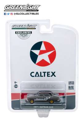 Datsun  - 510 1971 grey/black - 1:64 - GreenLight - 30169 - gl30169 | The Diecast Company