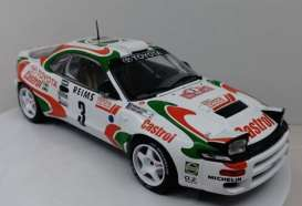 Toyota  - Celica white/red/green - 1:18 - IXO Models - rmc041A - ixrmc041A | The Diecast Company