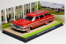 Ford  - Country Squire red/brown - 1:43 - Magazine Models - magJBCountry | The Diecast Company