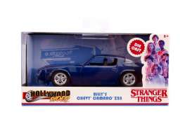 Chevrolet  - Camaro *Stranger Things* 1979 blue - 1:32 - Jada Toys - 31113 - jada31113 | The Diecast Company