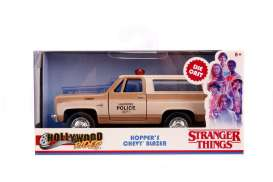 Chevrolet  - Blazer *Stranger Things* brown/creme - 1:32 - Jada Toys - 31114 - jada31114 | The Diecast Company