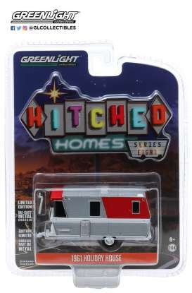 Holiday House  - 1961 red/chrome - 1:64 - GreenLight - 34080A - gl34080A | The Diecast Company