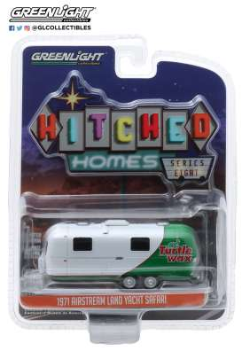 Airstream  - 1971 white/green - 1:64 - GreenLight - 34080C - gl34080C | The Diecast Company