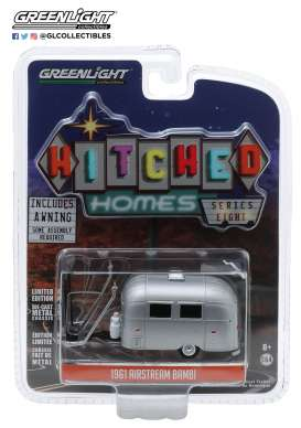 Airstream  - silver - 1:64 - GreenLight - 34080E - gl34080E | The Diecast Company