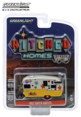 Airstream  - yellow/white - 1:64 - GreenLight - 34080F - gl34080F | The Diecast Company
