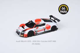 Audi  - R8LMS #66 2018 white/red - 1:64 - Para64 - 55262 - pa55262 | The Diecast Company