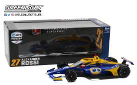 Honda  - 2020 blue/yellow - 1:18 - GreenLight - 11080 - gl11080 | The Diecast Company