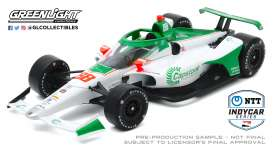 Honda  - 2020 white/green - 1:18 - GreenLight - 11083 - gl11083 | The Diecast Company
