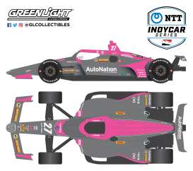 Honda  - 2020 grey/pink - 1:64 - GreenLight - 10862 - gl10862 | The Diecast Company