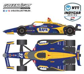 Honda  - 2020 blue/yellow - 1:64 - GreenLight - 10863 - gl10863 | The Diecast Company
