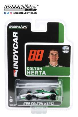 Honda  - 2020 white/green - 1:64 - GreenLight - 10866 - gl10866 | The Diecast Company