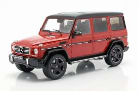 Mercedes Benz  - G63 red - 1:18 - iScale - 1180000038 - iscale1180038 | The Diecast Company