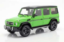 Mercedes Benz  - G63 green - 1:18 - iScale - 1180000037 - iscale1180037 | The Diecast Company