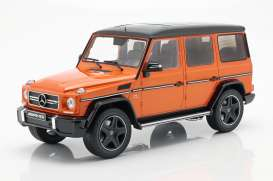 Mercedes Benz  - G63 orange - 1:18 - iScale - 1180000036 - iscale1180036 | The Diecast Company