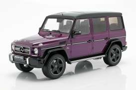 Mercedes Benz  - G63 lila - 1:18 - iScale - 1180000035 - iscale1180035 | The Diecast Company