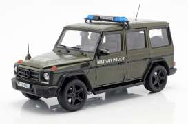 Mercedes Benz  - G-Classe army green - 1:18 - iScale - 1180000044 - iscale1180044 | The Diecast Company