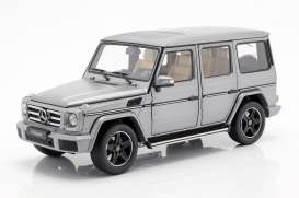 Mercedes Benz  - G-Classe platin - 1:18 - iScale - 1180000041 - iscale1180041 | The Diecast Company