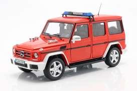 Mercedes Benz  - G-Classe red - 1:18 - iScale - 1180000042 - iscale1180042 | The Diecast Company