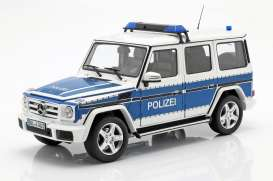 Mercedes Benz  - G-Classe blue/white - 1:18 - iScale - 1180000045 - iscale1180045 | The Diecast Company