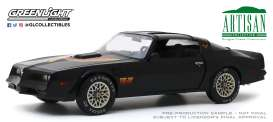 Pontiac  - Firebird 1977 black - 1:18 - GreenLight - 19080 - gl19080 | The Diecast Company