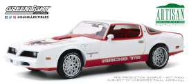 Pontiac  - Firebird 1978 white/red - 1:18 - GreenLight - 19081 - gl19081 | The Diecast Company