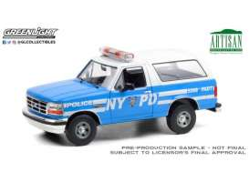 Ford  - Bronco 1992  - 1:18 - GreenLight - 19087 - gl19087 | The Diecast Company