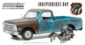 Chevrolet  - C-10 1971 blue - 1:18 - Highway 61 - hwy18021 - hwy18021 | The Diecast Company