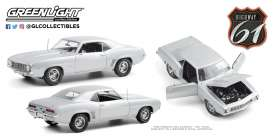 Chevrolet  - Camaro 1969 silver - 1:18 - Highway 61 - hwy18029 - hwy18029 | The Diecast Company
