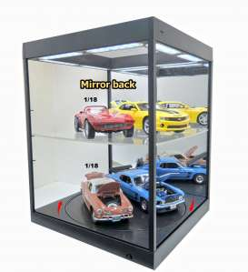 Accessoires diorama - 2018 black/mirror - 1:18 - Triple9 Collection - 69929Mbk - T9-69929Mbk | The Diecast Company