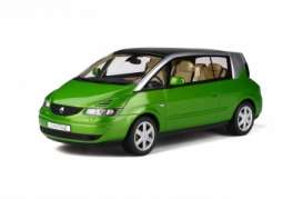 Renault  - Avantime 2003 green - 1:18 - OttOmobile Miniatures - 815 - otto815 | The Diecast Company