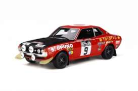 Toyota  - Celica 1600 red/black - 1:18 - OttOmobile Miniatures - 274 - otto274 | The Diecast Company