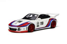 Porsche  - white/red - 1:18 - GT Spirit - GT796 - GT796 | The Diecast Company