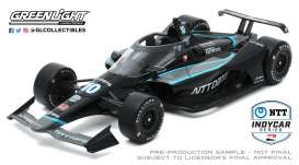 Honda  - 2020 black/grey/blue - 1:18 - GreenLight - 11084 - gl11084 | The Diecast Company