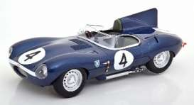 Jaguar  - 1956 blue - 1:18 - CMR - cmr142 - cmr142 | The Diecast Company