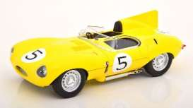 Jaguar  - 1956 yellow - 1:18 - CMR - cmr143 - cmr143 | The Diecast Company