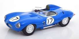 Jaguar  - 1957 blue - 1:18 - CMR - cmr145 - cmr145 | The Diecast Company