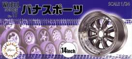 Rims & tires  - 1:24 - Fujimi - 193588 - fuji193588 | The Diecast Company