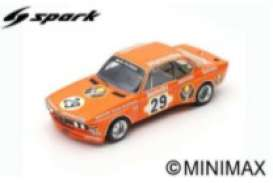 BMW  - 3.0 CSL 1973 orange - 1:18 - Spark - 18s413 - spa18s413 | The Diecast Company