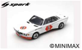 BMW  - 3.0 CSL 1973 white/red - 1:18 - Spark - 18s414 - spa18s414 | The Diecast Company