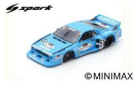 Lancia  - Beta Monte Carlo 1980 blue - 1:18 - Spark - 18SG034 - spa18SG034 | The Diecast Company