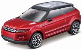 Land Rover  - 2010 red - 1:43 - Bburago - 30214r - bura30214r | The Diecast Company