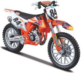 KTM  - orange - 1:18 - Bburago - 51081 - bura51081 | The Diecast Company