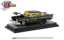 Chevrolet  - 210 1957 black/yellow - 1:24 - M2 Machines - 40300-73A - M2-40300-73A | The Diecast Company