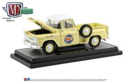 Chevrolet  - Apache 1958 yellow/white - 1:24 - M2 Machines - 40300-73B - M2-40300-73B | The Diecast Company