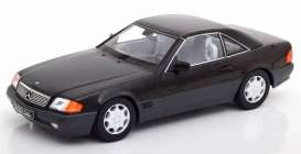 Mercedes Benz  - 500SL 1993 black - 1:18 - KK - Scale - 180371 - kkdc180371 | The Diecast Company