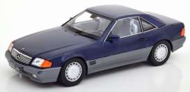 Mercedes Benz  - 500SL 1993 blue - 1:18 - KK - Scale - 180373 - kkdc180373 | The Diecast Company