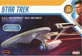 Star Trek  - NCC-1701 Refit  - 1:1000 - Polar Lights - POL0974 - plls0974 | The Diecast Company