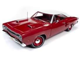 Dodge  - Super Bee 1969 red - 1:18 - Auto World - AMM1191 - AMM1191 | The Diecast Company