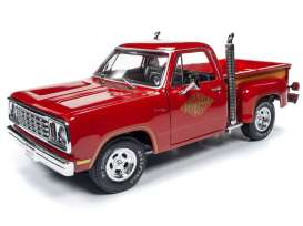 Dodge  - Pickup 1978 red - 1:18 - Auto World - AMM1194 - AMM1194 | The Diecast Company